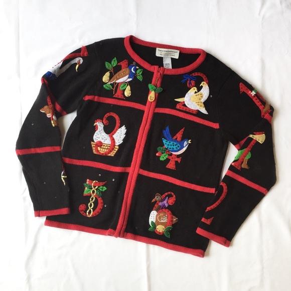 Tiara International Sweaters 12 Days Of Christmas Sweater Poshmark